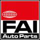FAI AutoParts TCK223L Steuerkettensatz mit Dichtungen, mit Zahnrad, Kette geräuscharm, Simplex für VW, AUDI, SKODA, SEAT, CUPRA