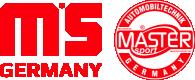 MASTER-SPORT 13046028802NSETMS Bremsbelagsatz, Scheibenbremse für Verschleißwarnanzeiger vorbereitet, exkl. Verschleißwarnkontakt, mit Anti-Quietsch-Blech für VW, AUDI, SKODA, SEAT, HONDA