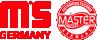 Scheibenbremsbeläge Daihatsu Cuore L251 Bj 2011 MASTER-SPORT 13046057092N-SET-MS