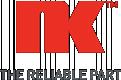 NK 222561 Bremsbelagsatz, Scheibenbremse exkl. Verschleißwarnkontakt, mit Anti-Quietsch-Blech, ohne Zubehör für FORD, VOLVO, CITROЁN, MAZDA
