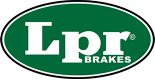 Brake pad set for MG MGF from LPR