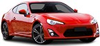 Ignition / preheating TOYOTA GT 86
