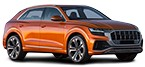Windscreen cleaning system AUDI Q8