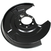 TOPRAN Brake disc back plate