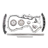 AUTLOG Timing chain kit