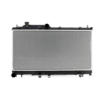 Engine radiator for JEEP