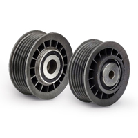 Car Tensioner pulley v-ribbed belt BMW 5 Saloon (F10) Top quality for a top price