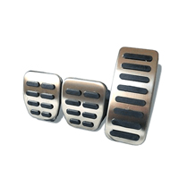 Pedal covers for ISUZU