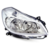 Auto Headlights MERCEDES-BENZ C-Class Saloon (W204)