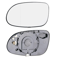 Glass for wing mirror for NISSAN