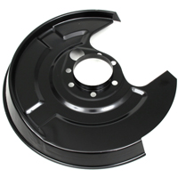 Brake disc back plate for BMW