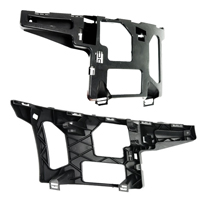 Bumper brackets for NISSAN