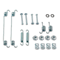 Brake shoe fitting kit for MERCEDES-BENZ C-Class Saloon (W203)