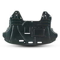 Engine splash shield for FIAT