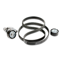 Car V-ribbed belt kit BMW 7 (E65, E66, E67) Top quality for a top price