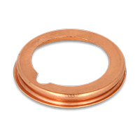 Oil drain plug gasket for VW