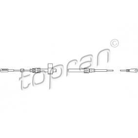 Seilzug, Betriebsbremse für CRAFTER 30-50 Kasten (2E_) 2.5TDI BJL Motorcode