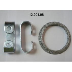Dichtungssatz, Abgasanlage für TWINGO 2 (CN0) 1.5dCi 90 K9K 820 Motorcode