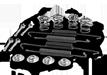 Juego de accesorios, zapatas de freno con OEM número 6395401417