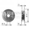 Deflection / Guide Pulley, v-belt 38942P01003