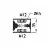 Anschlagpuffer, Schalldämpfer 4F0253147D