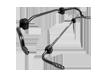Sway Bar, suspension CIVIC 8 Hatchback (FN, FK) 1.4 (FK1, FN4) L13Z1 engine code