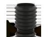Topes de suspensión & guardapolvo amortiguador KYB 829336 Eje delantero, Protection Kit