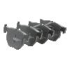 REMSA  0224.00 Bremsbelagsatz, Scheibenbremse Breite: 127,5mm, Höhe: 49mm, Dicke/Stärke: 148mm