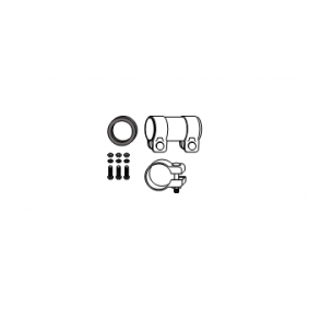Mounting Kit, catalytic converter PANDA (169) 1.2 188 A4.000 engine code