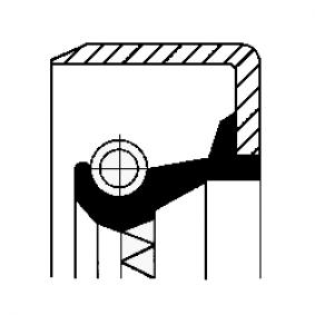 Tesnici krouzek hridele, automaticka prevodovka