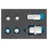 Set adaptoare marire / reducere, clichet