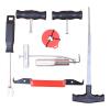 Zestaw noży do przeciągania, demontaż szyby