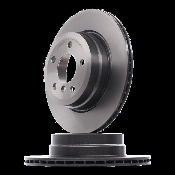 Bremsscheibe Bremsscheibendicke: 24mm, Lochanzahl: 5, Ø: 280mm mit OEM-Nummer 7D0 615 301A