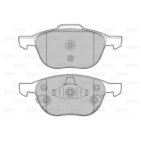 Bremsbelagsatz, Scheibenbremse Breite 2: 156,3mm, Breite: 155,1mm, Höhe 2: 67mm, Höhe: 62,3mm, Dicke/Stärke 2: 18,4mm, Dicke/Stärke: 18,4mm mit OEM-Nummer 1 816 524