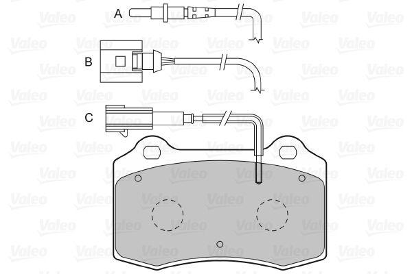 Bremsbelagsatz VALEO 601422 Bewertung