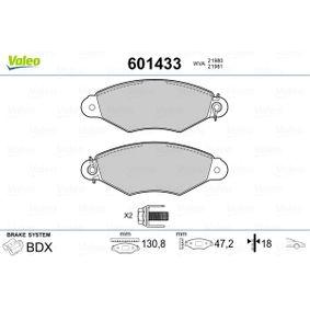 Bremsbelagsatz, Scheibenbremse Breite 1: 130,75mm, Höhe 1: 47,23mm, Dicke/Stärke 1: 18mm mit OEM-Nummer 425205