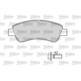 Brake Pad Set, disc brake Width 1: 136,9mm, Height 1: 51,6mm, Thickness 1: 19mm with OEM Number 1637014580
