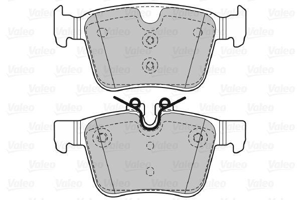 Bremsbelagsatz VALEO 601473 Bewertung