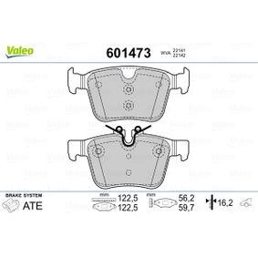 Brake Pad Set, disc brake Width 2 [mm]: 122,5mm, Width: 122,5mm, Height 2: 59,7mm, Height: 56,2mm, Thickness 2: 16,2mm, Thickness: 16,2mm with OEM Number LR-123595