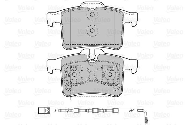Bremsbelagsatz VALEO 601476 Bewertung