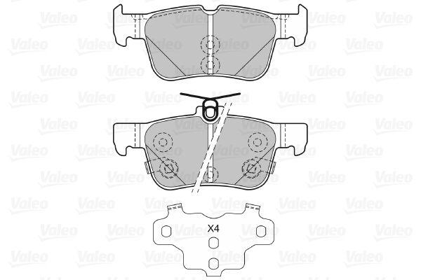 Bremsbelagsatz VALEO 601479 Bewertung