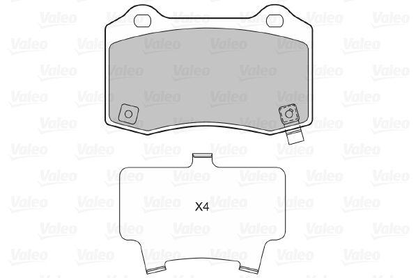 Bremsbelagsatz VALEO 601481 Bewertung