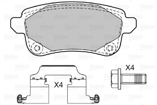 Bremsbelagsatz VALEO 601484 Bewertung