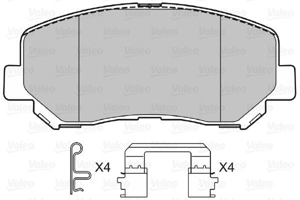 Bremsbelagsatz VALEO 601487 Bewertung