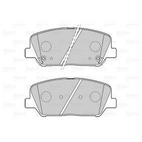Bremsbelagsatz, Scheibenbremse Breite 2: 141,2mm, Höhe 2: 59,9mm, Dicke/Stärke 2: 17,6mm mit OEM-Nummer 58101-2MA00