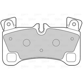 Bremsbelagsatz, Scheibenbremse Breite 1: 132,4mm, Höhe 1: 77,3mm, Dicke/Stärke 1: 15,3mm mit OEM-Nummer 955 352 939 63