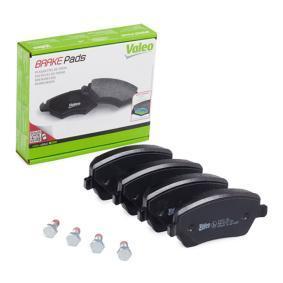 Bremsbelagsatz, Scheibenbremse Breite: 116,4mm, Höhe: 52,4mm, Dicke/Stärke: 17,3mm mit OEM-Nummer 41060-AX625