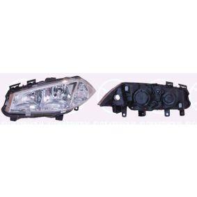 Hauptscheinwerfer für Fahrzeuge mit Leuchtweiteregelung, für Rechtsverkehr mit OEM-Nummer 260108053R