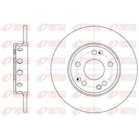 Bremsscheibe Bremsscheibendicke: 12,5mm, Lochanzahl: 6, Ø: 236mm, Ø: 236mm mit OEM-Nummer 90 008 006