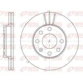 Bremsscheibe Bremsscheibendicke: 20mm, Lochanzahl: 6, Ø: 236mm, Ø: 236mm mit OEM-Nummer 5 69 014
